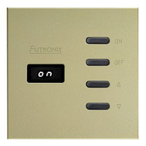 Sahara Switch Panel - Colour Champagne - BY Futronix