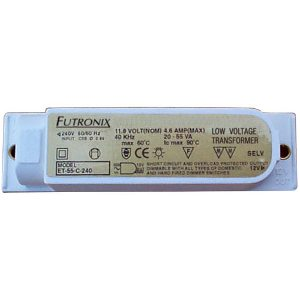 Transformers for use with Futronix lighting dimmers