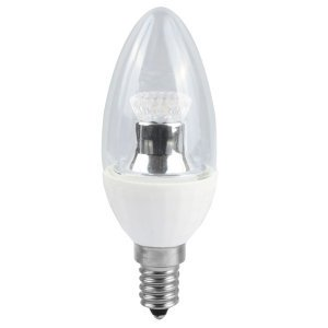 BELL LED Lamp 4W SES LED C35 Clear Candle Dimmable 2700K . 240 Volts Cap type SES x05139 300x300